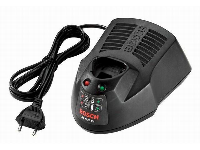 Зарядное устройство BOSCH AL 1130 CV (10.8 - 12.0 В, 3.0 А, для профессионального инструмента, быстрая зарядка)