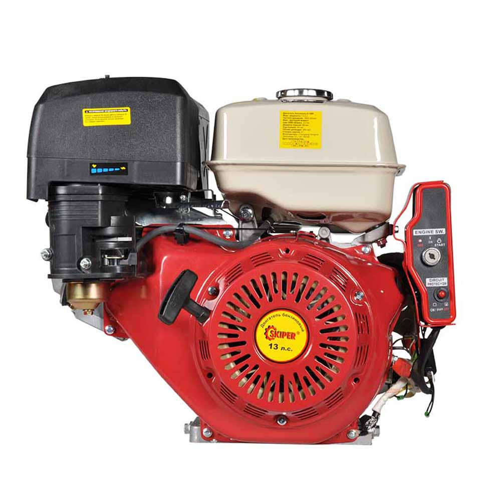 Двигатель Skiper 188FE (электростартер)