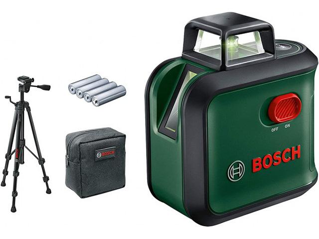 Нивелир лазерный линейный BOSCH Advanced Level 360 Set со штативом