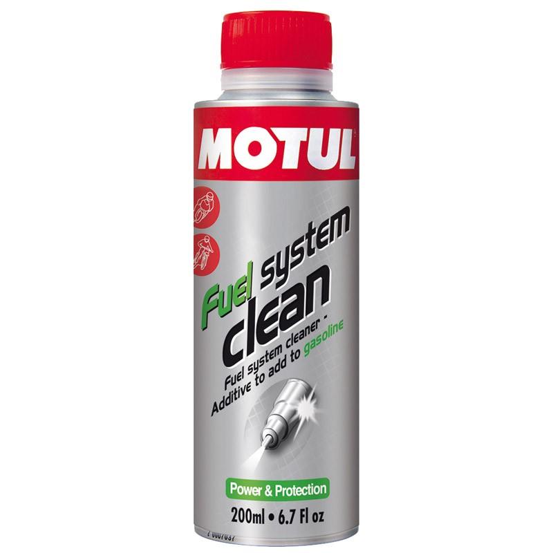 Присадка - очиститель Motul FUEL SYST CLEAN MOTO топливной системы мотоциклов 200 мл