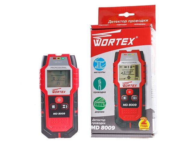 Детектор проводки WORTEX MD 8009 в кор. (металл: 80 мм, дерево: 20 мм, проводка: 50 мм,): купить в Минске, доставка по Беларуси, цена