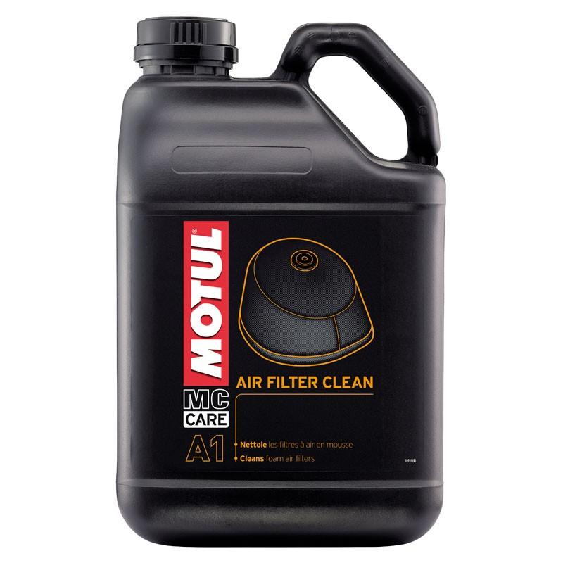 Средство для очистки поролоновых фильтров Motul A1 AIR FILTER CLEAN, 5 литров