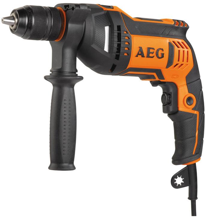 Дрель безударная AEG BE 750 R