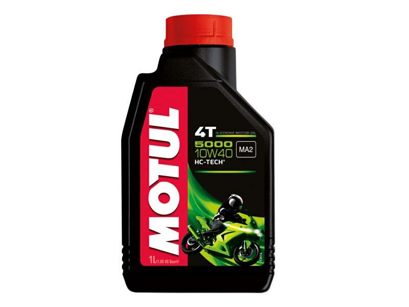 Масло  моторное Motul  5000 10W40 4T 1л