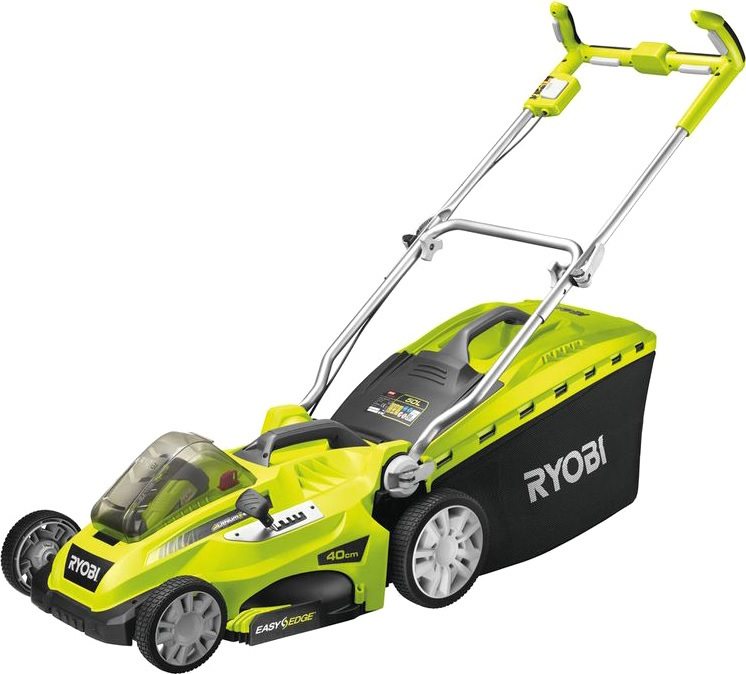 Аккумуляторная газонокосилка Ryobi RLM36X40H40