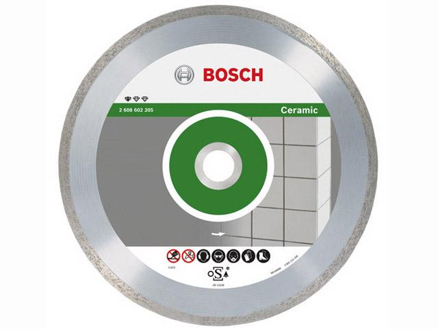 Алмазный круг 115х22,23мм керамика Professional (BOSCH)