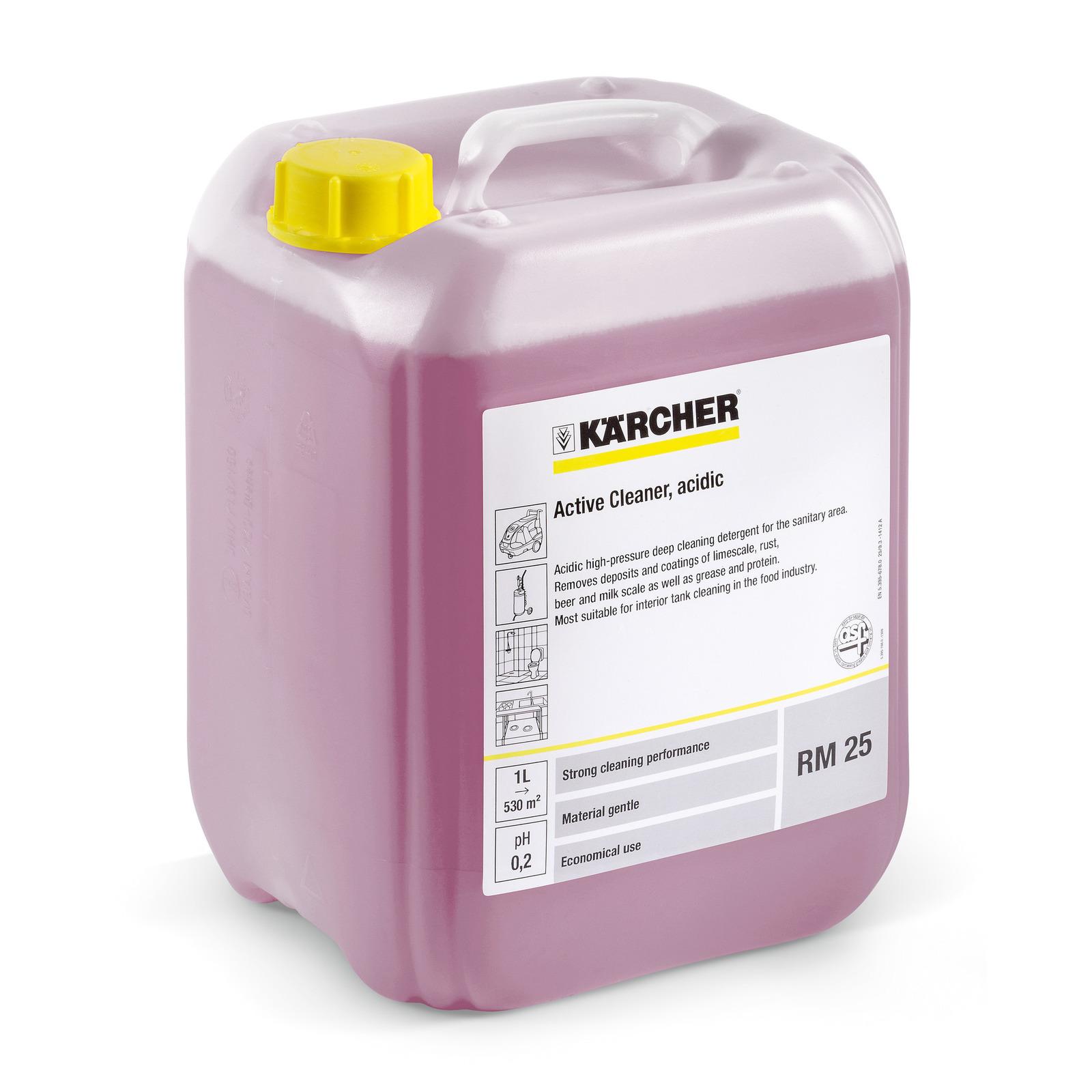 Кислотное активное чистящее средство Karcher RM 25, 20 л