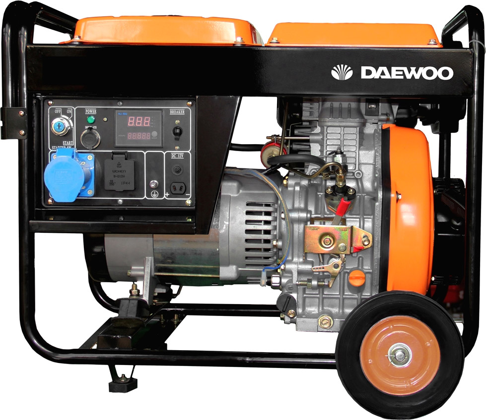 Генератор Daewoo Power DDAE 6000XE