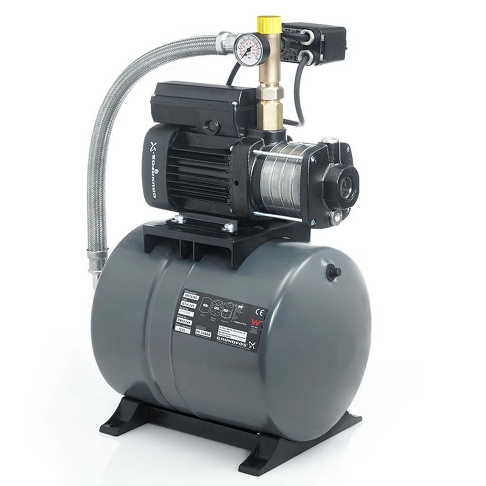 Станция водоснабжения Grundfos CMB 3-37 (бак 24 литра)