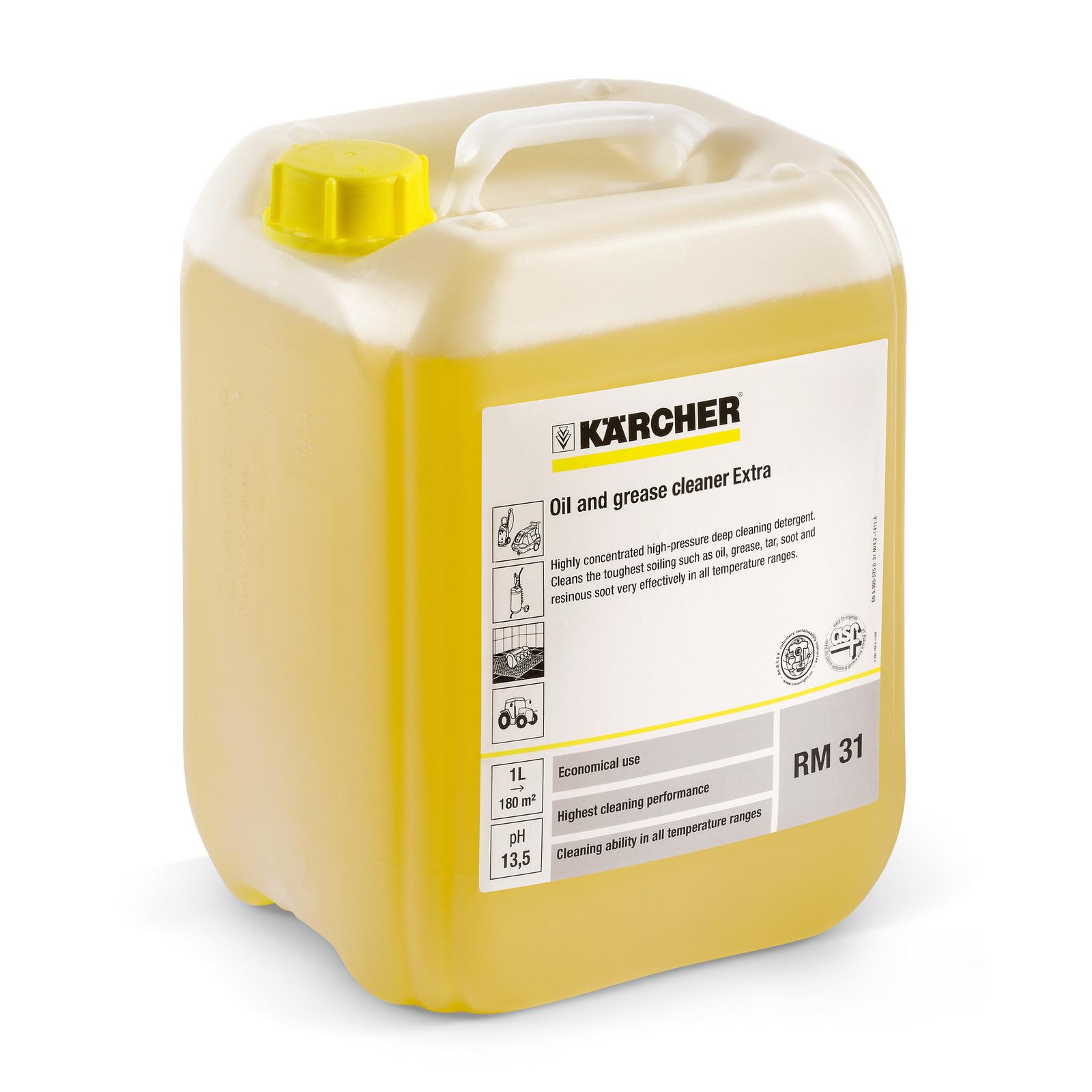 Средство для устранения масляно-жировых загрязнений Karcher RM 31, 20 литров