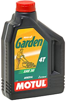 Моторное масло Motul GARDEN 4T SAE30 1 л
