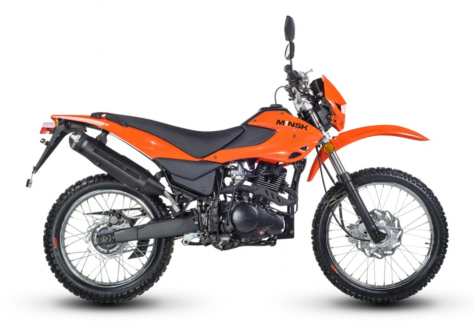 Мотоцикл M1NSK X 250 оранжевый