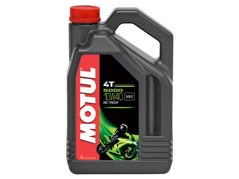 Масло  моторное Motul  5000 10W40 4T 4л