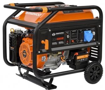 Генератор Daewoo Power GDA 6800E
