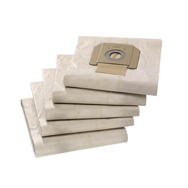 Фильтр- мешки бумажные 5шт. Karcher