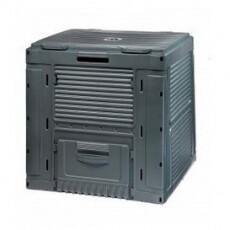 Компостер садовый E-Composter с базой, черный