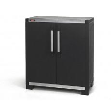 Шкаф уличный Keter XL PRO BASE UTILITY низкий (черный)
