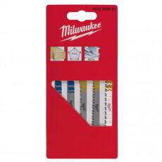 Набор из 5 полотен для лобзиков MILWAUKEE