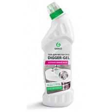 """Средство для прочистки канализационных труб GraSS """"DIGGER-GEL"""", 1л."""