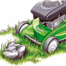 Бензиновая газонокосилка VIKING MB 545.0