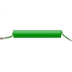 Шланг полиурет. спиральный ф 8/12 мм c быстросъемн. соед. ECO (длина 10 м)