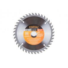 Диск пильный 160х20/16 мм 40 зуб. по дереву STARTUL (твердоспл. зуб)