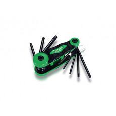 Набор ключей Torx T9-Т40 8шт TOPTUL (AIFB0801)