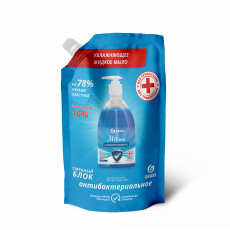 Мыло жидкое антибактериальное Milana original (дой-пак 500 мл)