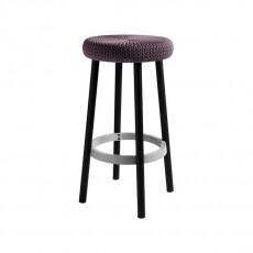 Стул барный уличный Keter Cozy bar stool (Коузи Бар), фиолетовый