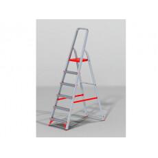 Лестница-стремянка алюм. проф. 125 см 6 ступ. 5,2кг NV300 Новая Высота (макс. нагрузка 225кг)
