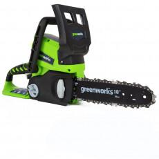 Пила цепная аккумуляторная GreenWorks G24CS25 24 В