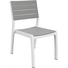 Стул Keter Harmony armchair (белый/серый)