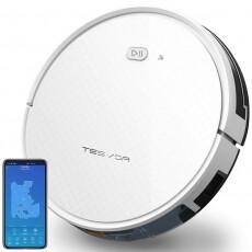 Аккумуляторный робот-пылесос Tesvor Х500 Pro (Белый) + магнитная лента