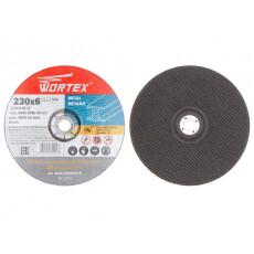 Круг обдирочный 230х6x22.2 мм для металла WORTEX