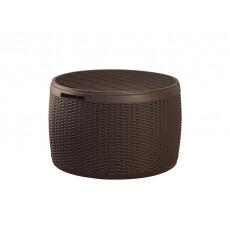 Стол-сундук Keter CIRCA RATTAN BOX