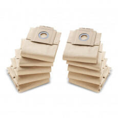 Бумажные фильтр-мешки Kaercher,10 шт. для пылесоса 6.904-333.0