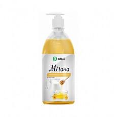 """Мыло жидкое для рук GraSS """"Milana"""" (молоко и мед), 1л."""