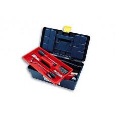 Ящик для инструмента пластмассовый 29x17x12,7 см с лотком TAYG 10