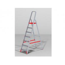 Лестница-стремянка алюм. проф. 147 см 7 ступ. 5,7кг NV300 Новая Высота (макс. нагрузка 225кг)