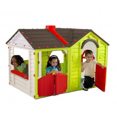 Игровой домик Keter GARDEN VILLA PLAYHOUSE