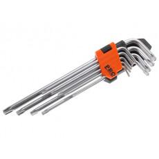 Набор ключей Torx T10-T50 9шт экстрадлинных PRO STARTUL (PRO-4095)
