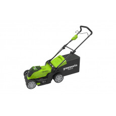 Газонокосилка аккумуляторная GreenWorks G40LM41 40см 40 В