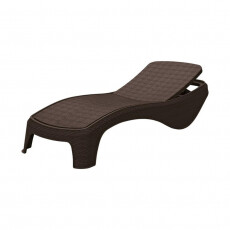 Шезлонг KETER Atlantic sun lounger, коричневый