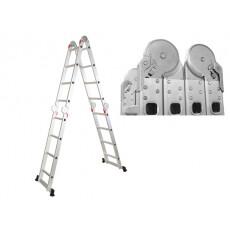 Лестница многофункциональная алюминиевая 460 см 13 кг STARTUL (ST9732-04)