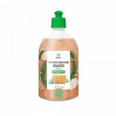 Мыло жидкое хозяйственное Grass с маслом кедра, 500 мл