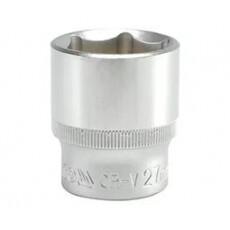 """Головка торцевая """"Yato"""" 1/2"""" 6гр, 27 мм L38мм CrV YT-1218"""