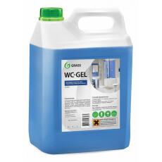 """Средство для чистки сантехники GraSS """"WC-GEL"""", 5,3 кг"""