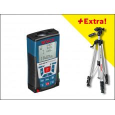 Дальномер лазерный BOSCH GLM 250 VF + BS 150 в кор.