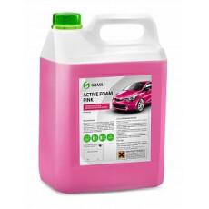 """Средство для бесконтактной мойки GraSS """"Active Foam Pink"""". 6 кг."""