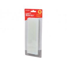 Клеевые стержни WORTEX (универс., 11.2х200 мм, 6 шт в блистере) (PVC универсальный, 11,2х200 мм, 6 шт)